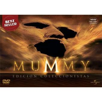 The Mummy (La Momia) Ed Coleccionista - DVD Ed Horizontal