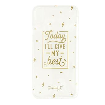 Funda Mr Wonderful para iPhone Xs Max Today I'll give my best