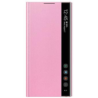 Funda Samsung Clear View Rosa para Galaxy Note 10