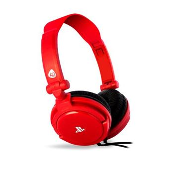 Auriculares Stereo PRO4 10 Rojo PS4