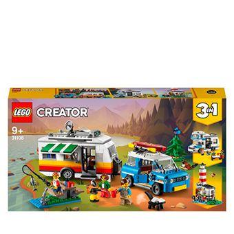 LEGO Creator 3 en 1 31108 Vacaciones Familiares en Caravana