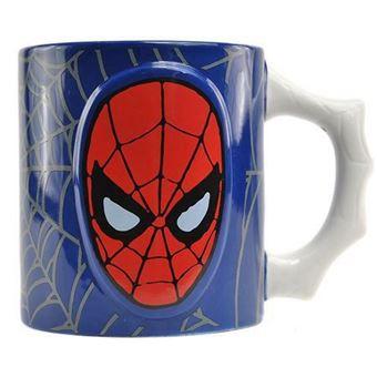 Taza relieve Marvel - Spiderman