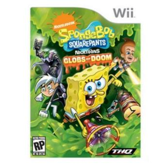 Bob Esponja Globs Of Doom Wii