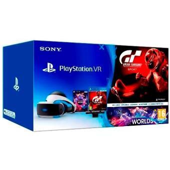 Gafas Playstation Vr Camara Juego Vr Worlds Ps4 Codigo De