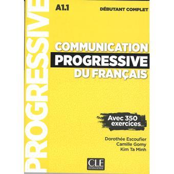 Communication Progressive du Français. Niveau Débutant Complet (Libro  + CD)