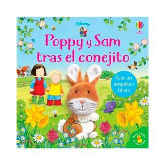 Poppy y Sam tras el conejito - Libro + títere
