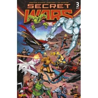 Secret Wars 3 (Portada alternativa)