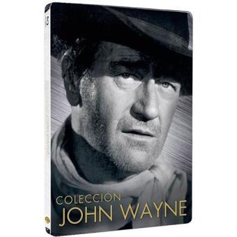 John Wayne: Río Bravo, Boinas Verdes, La conquista del Oeste, Ladrones De Trenes - Steelbook Blu-Ray