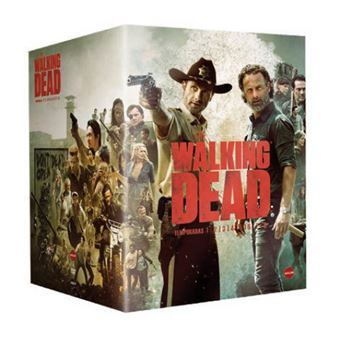 The Walking Dead - Temporadas 1-8 - Blu-Ray