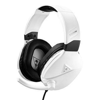 Auriculares Turtle Beach Recon 200 Blanco Multiplataforma