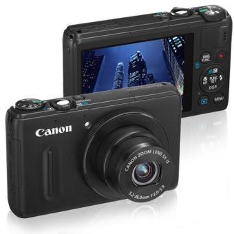 Canon PowerShot S100 Negro Cámara Compacta Digital