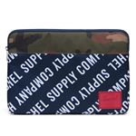 Funda Herschel Anchor Camuflaje Verde para MacBook 15'' Cierre cremallera