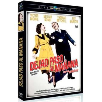 Dejar paso al mañana - DVD