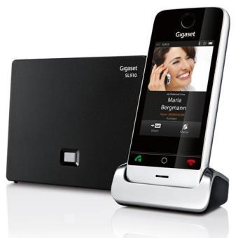 Teléfono inalámbrico Siemens gigaset SL910 Dect
