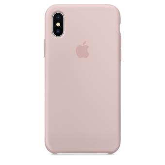 Funda Apple Silicone Case Rosa arena para iPhone X