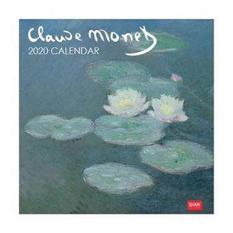 Calendario cuadrado 2020 Legami Claude Monet - 18x18cm
