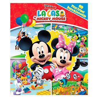 Mini primer busca y encuentra - Disney Junior - La casa de Mickey Mouse