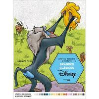 Colorea y Descubre el Misterio: Grandes clásicos Disney