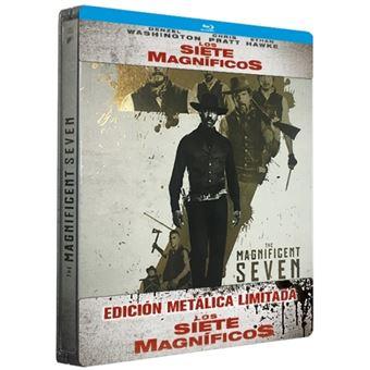 Los siete magníficos (2016) - Steelbook Blu-Ray