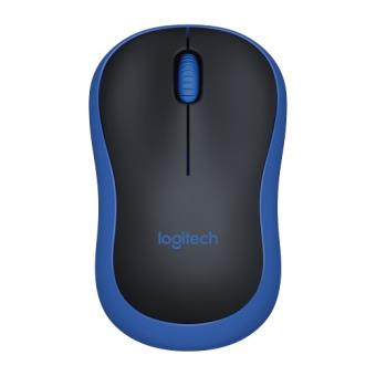 Ratón inalámbrico Logitech M185 Azul