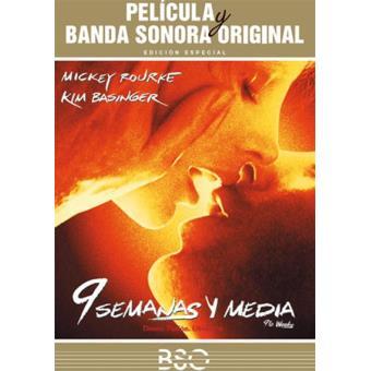 Nueve Semanas Y Media Banda Sonora Original Dvd Adrian Lyne Mickey Rourke Kim Basinger Fnac