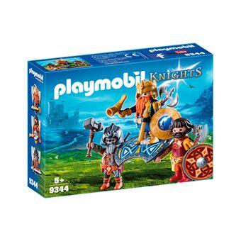 Playmobil Knights Rey de los enanos