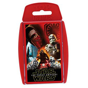 Cartas Top Trumps Star Wars The Force Awakens