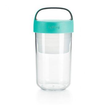Tupper Lékué Jar To Go 600 ml Turquesa