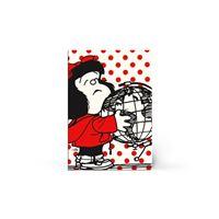 Libreta Tapa Blanda Mafalda - Grande