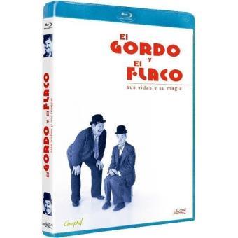 El Gordo y el Flaco: Sus vidas y su magia - Blu-Ray