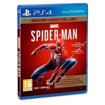 Marvel's Spider-Man: Edición Juego del Año - PS4