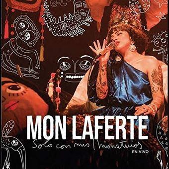 Sola con mis monstruos Live - CD + DVD