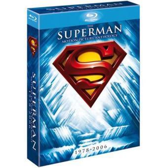 Pack Superman Anthology - Blu-Ray