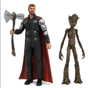 Figura Marvel - Thor y Groot