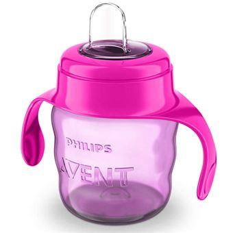 Vaso con boquilla Philips SCF551/03 200 ml Rosa