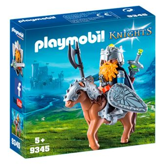 Playmobil Knights Enano con poni