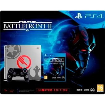 Consola PS4 Slim 1TB Deluxe Edition + Star Wars Battlefront II