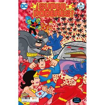 ¡Superpoderes! núm. 06 (de 6) grapa