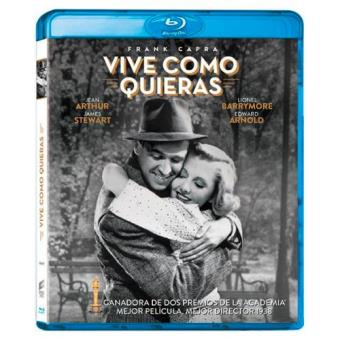 Vive como quieras - Blu-Ray