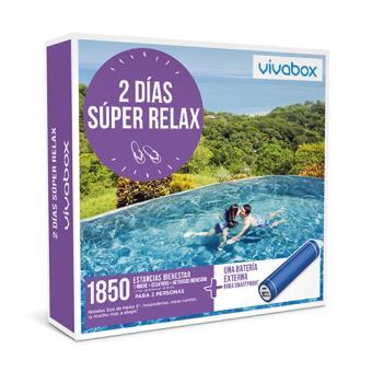 Caja regalo VivaBox Dos días súper relax