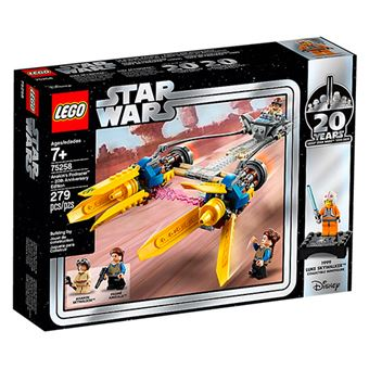 LEGO Star Wars 75258 Vaina de Carreras de Anakin - Ed 20 Aniversario