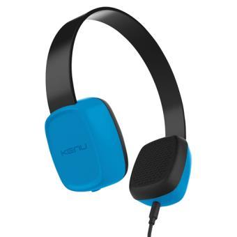 Auriculares Kenu Groovies para niños Azul