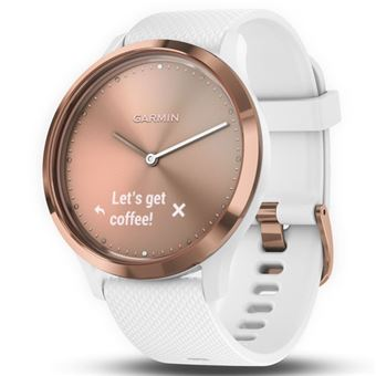 Smartwatch Garmin Vívomove HR Sport Blanco/Oro Rosa