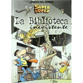 Superlópez - La biblioteca inexistente