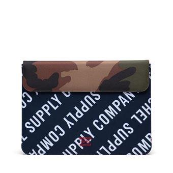 Funda Herschel Spokane Camuflaje Verde para MacBook 13''