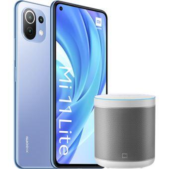 Xiaomi Mi 11 Lite 6,55'' 128GB Azul + Altavoz Mi Smart Speaker