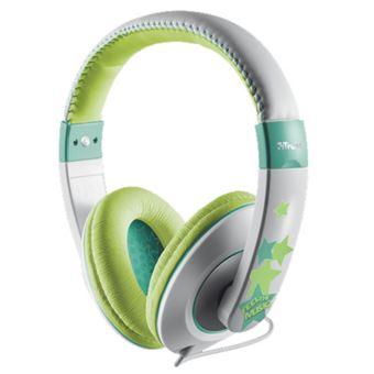 Auriculares para niños Trust Sonin Verde/Gris