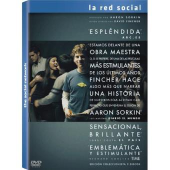 La red social (Ed. coleccionista 2 discos) - DVD