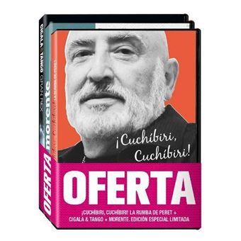 Pack Morente - El Cigala - Peret - DVD