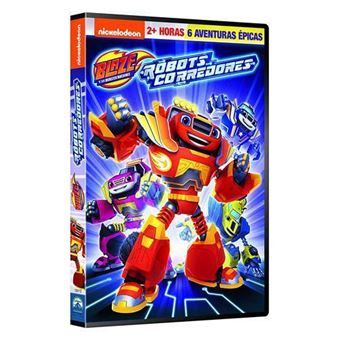 Blaze y los Monster Machines 12: Robot Riders - DVD
